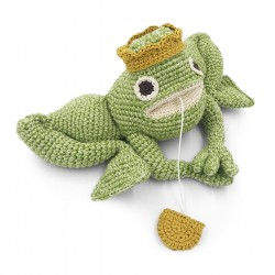 Richard King Frog - music box 100% organic cotton
