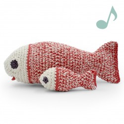 Salomon Fish - music box 100% organic cotton