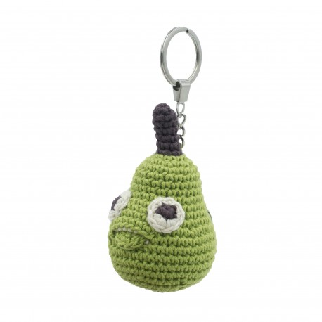 Edouard Pear - key chain 100% organic cotton