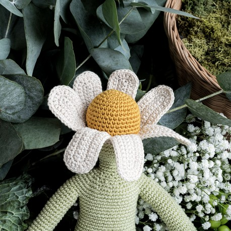Chamomile Flower doll - small